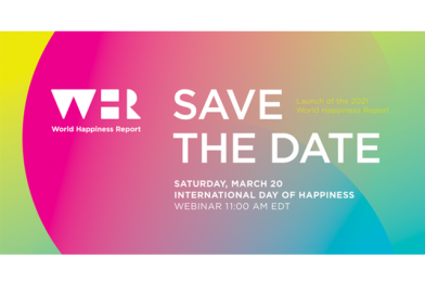 Save the Date: World Happiness Report Launch